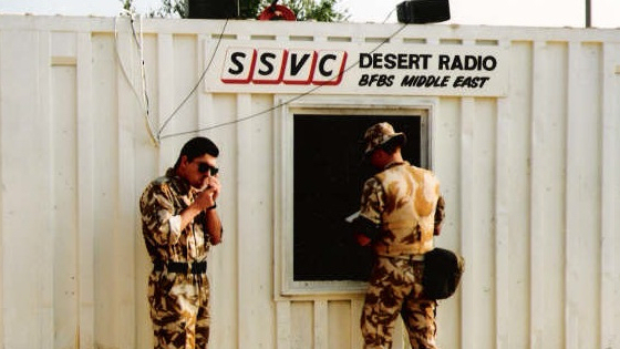 British Forces Broadcasting Service Middle East - Desert Radio