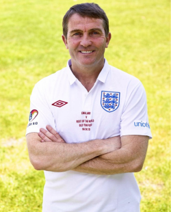 Bradley Walsh at Soccer Aid 2010