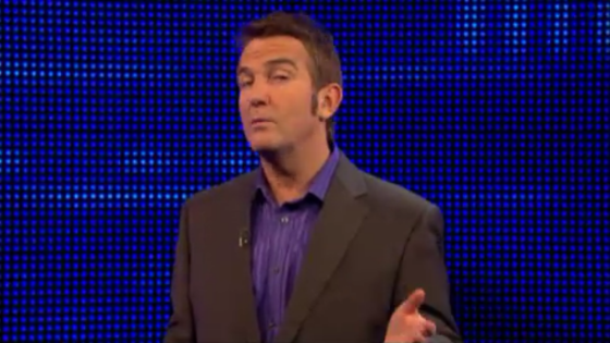 The Chase - Bradley Walsh - Alternating Stripe Shirt