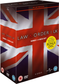 Law & Order: UK - Series 1-4 Boxset