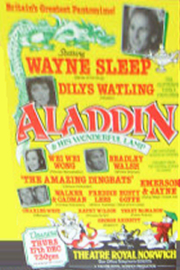 1988 Aladdin Theatre Royal, Norwich