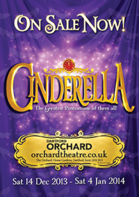 2013 Cinderella Orchard Theatre Dartford