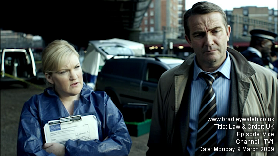 Law & Order: UK - Series One : Episode Three : Vice - Monday, 9 March 9:00pm - 10:00pm ITV 1