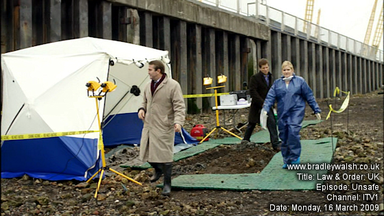 Law & Order: UK - Series One : Episode Four : Unsafe - Monday, 16 March 9:00pm - 10:00pm ITV 1