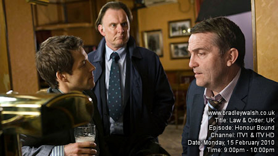 Law & Order: UK - Series Two : Episode Six : Honour Bound - Monday, 15 February 9:00pm - 10:00pm ITV1 / ITV1 HD