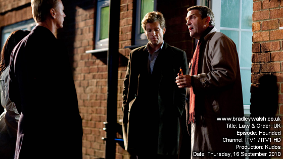Law & Order: UK - Series Three : Episode Two : Hounded - Thursday, 16 September 9:00pm - 10:00pm ITV1 / ITV1 HD