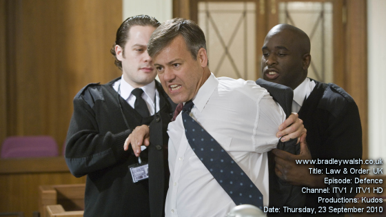 Law & Order: UK - Series Three : Episode Three : Defence - Thursday, 23 September 9:00pm - 10:00pm ITV1 / ITV1 HD