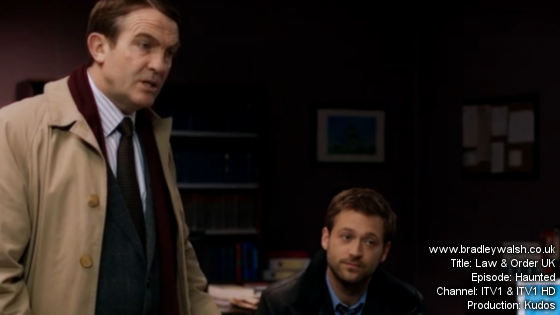 Law & Order UK: Series 6 Bradley Walsh is DC Ronnie Brooks