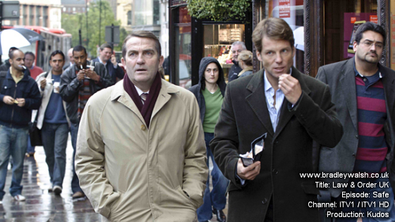 Law & Order UK: Series 5 Bradley Walsh is DC Ronnie Brooks