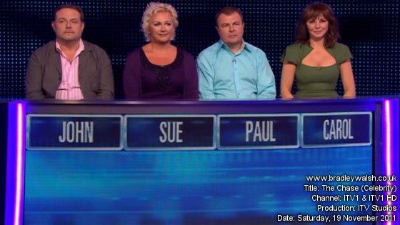 The Chase - Celebrity Special (7th October 2012) - YouTube