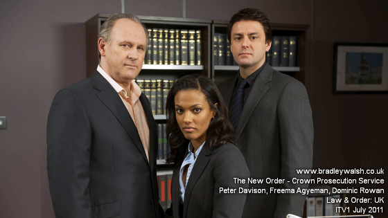 Law & Order UK: Series 5 Peter Davison and Dominic Rowan join the cast