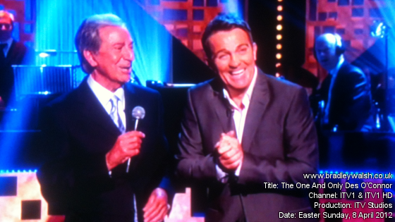 Bradley Walsh on The One And Only Des O'Connor