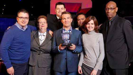 The Chase wins TV Times Award 2012 Favourite Daytime Show