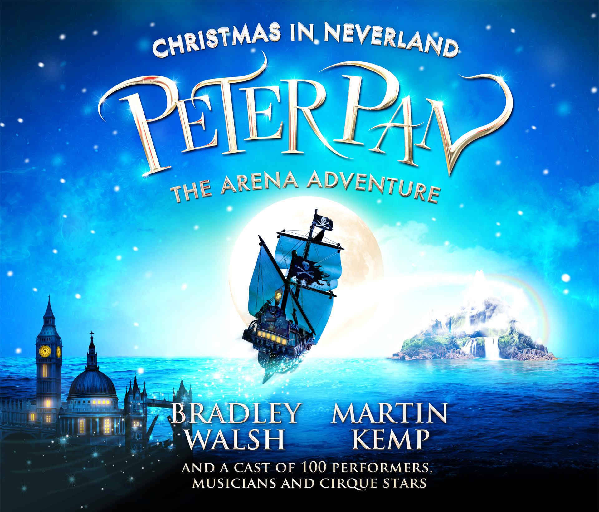 Peter Pan 2017 Birmingham & London