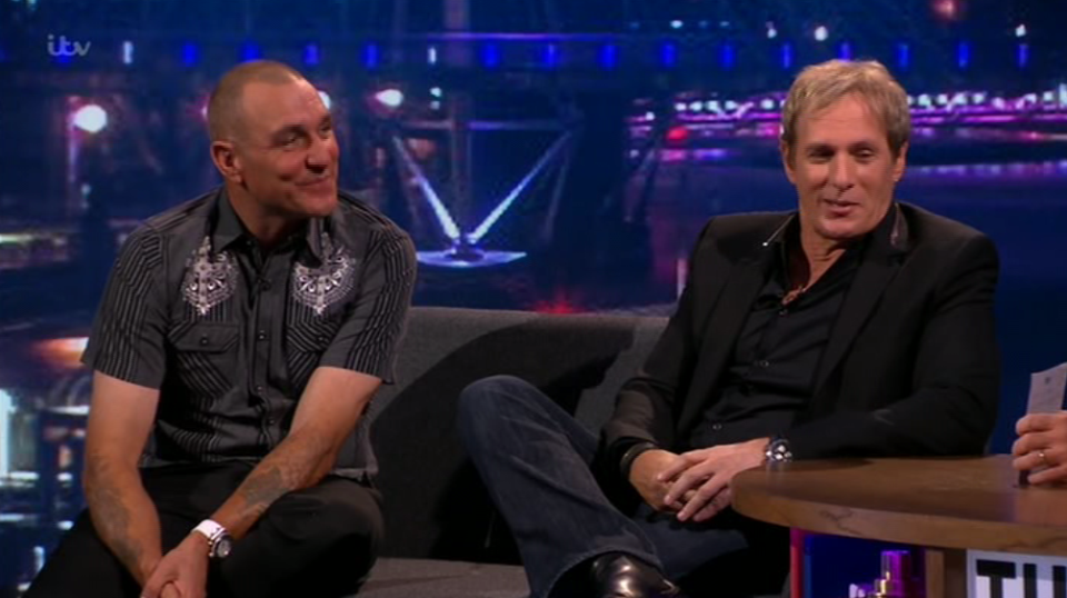 The Nightly Show Monday 3 April 2017 Vinnie Jones &  Michael Bolton