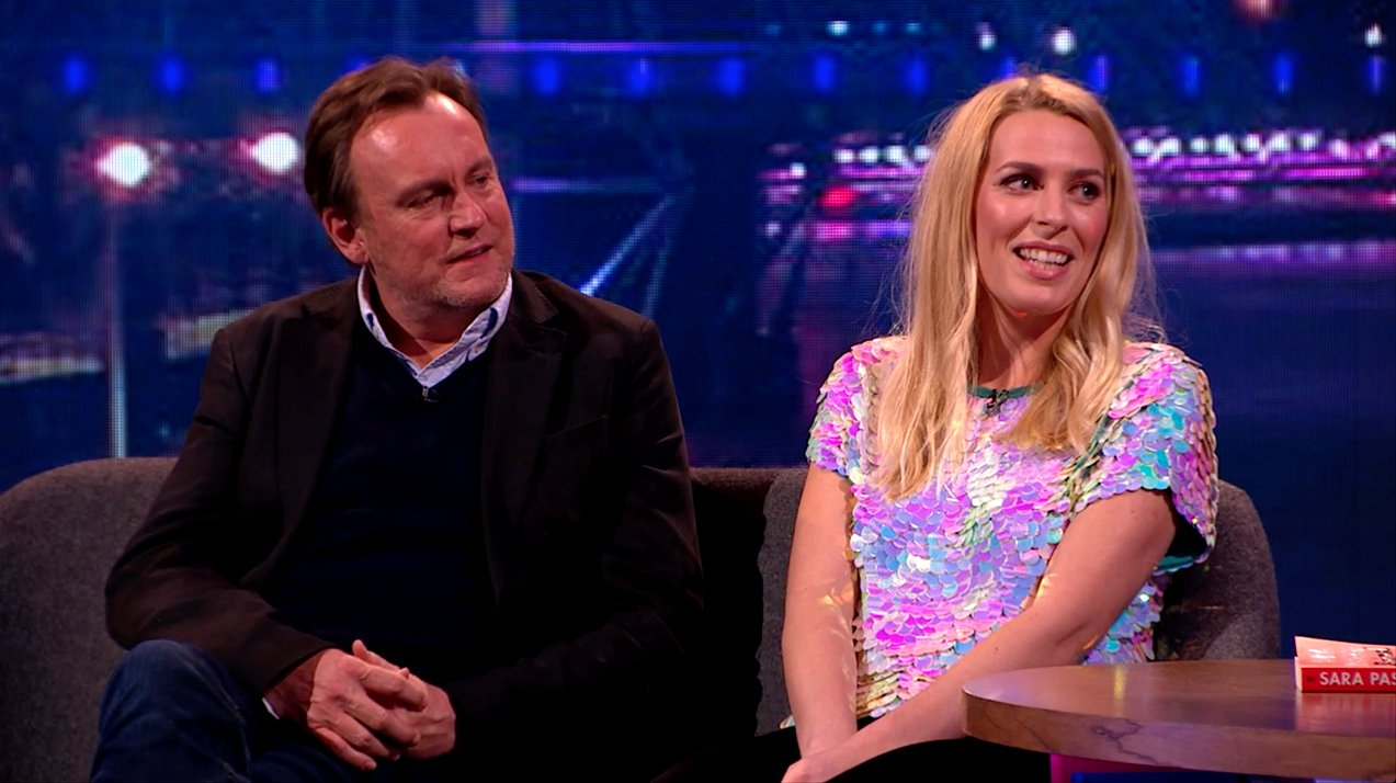 The Nightly Show - Tue 4 April 2017 Philip Glenister Sara Pascoe