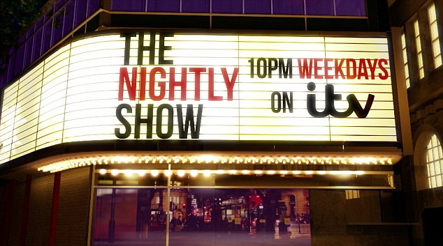 The Nightly Show Exterior