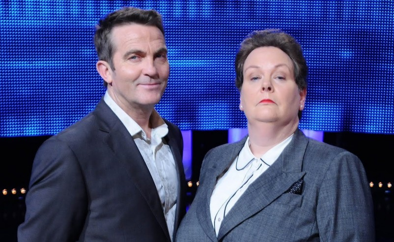 Bradley Walsh and Anne Hegerty (The Governess)