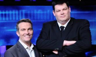 Bradley Walsh and Mark Labbett (The Beast)