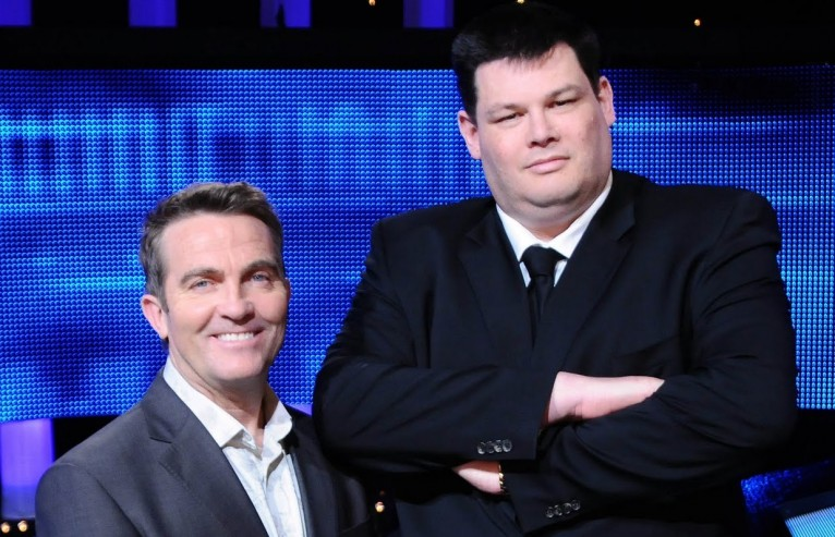 Bradley Walsh and Mark Labbett (The Beast)