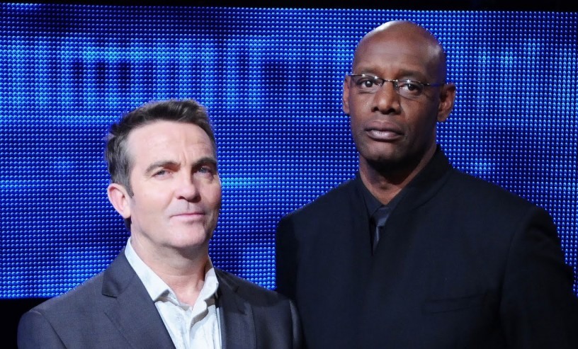 Bradley Walsh and Shaun Wallace (The Dark Destroyer)