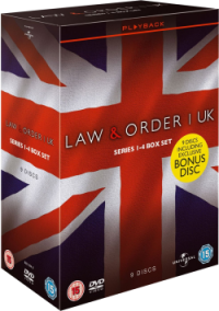 Law & Order UK Boxset 1-4